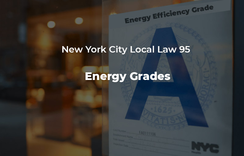 New York City Local Law 95 - Energy Grades