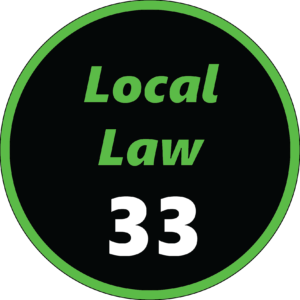 NYC Local Law 33