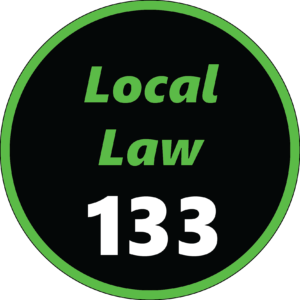 NYC Local Law 133