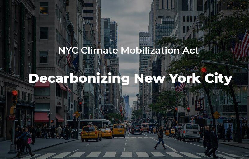 NYC NYC Climate Mobilization Act