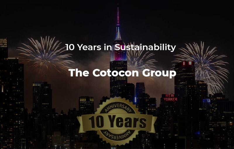 10 years in Sustainability