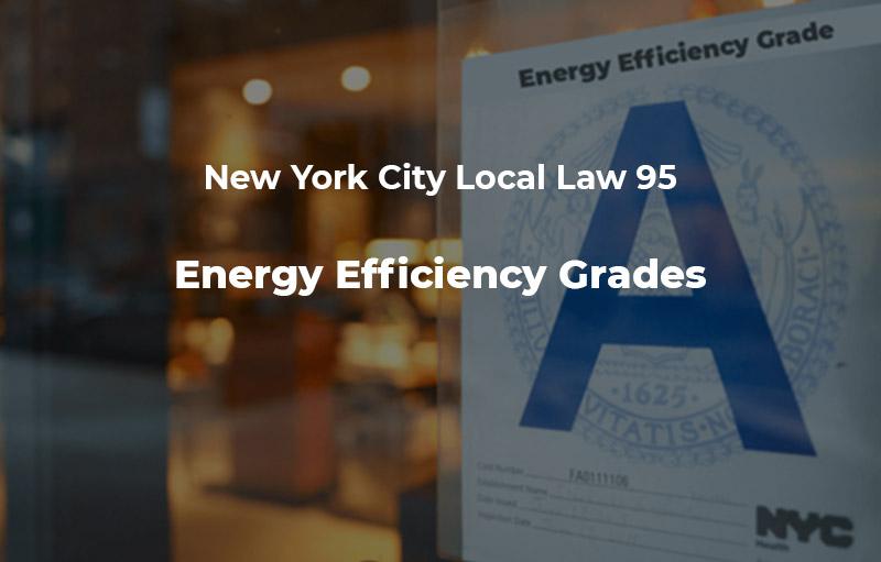 Energy Efficiency Grades NYC