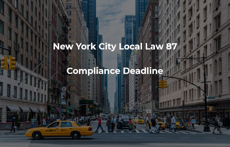 Local Law 87