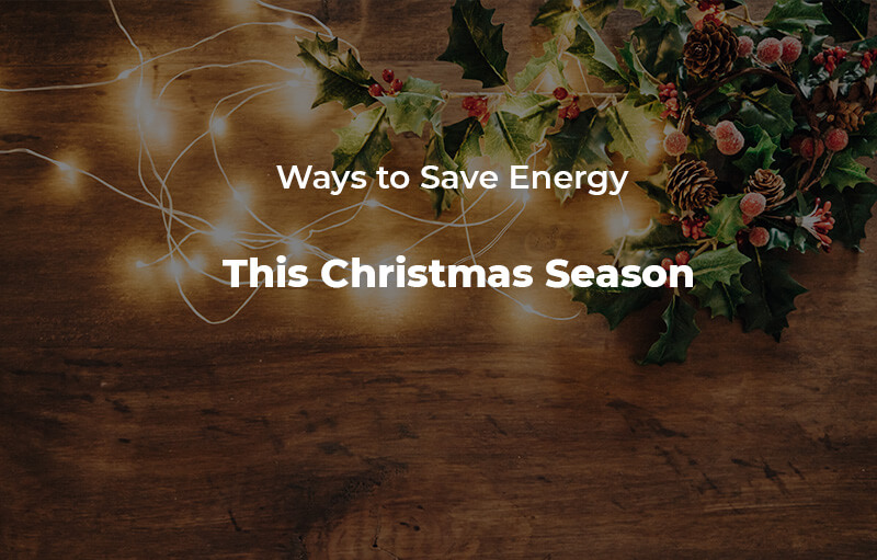 Save Energy Christmas