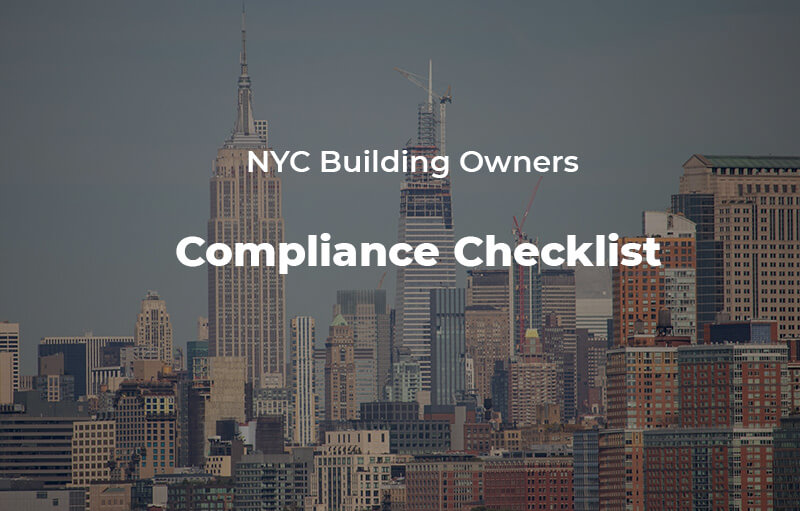 NYC Building Owners' compliance checklist
